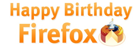 Happy Birthday Firefox